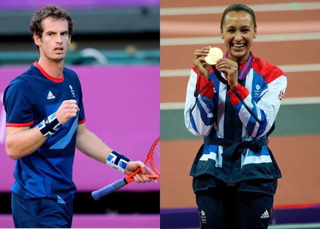 Jessica Ennis, Andy Murray
