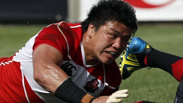 Super Rugby - Brumbies sign Japanese playmaker Harumichi Tatekawa