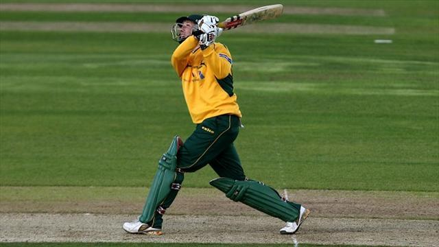 County - Hussey in a hurry as Notts take win