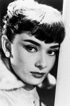 Audrey Hepburn knew the power of boldly defined brows!