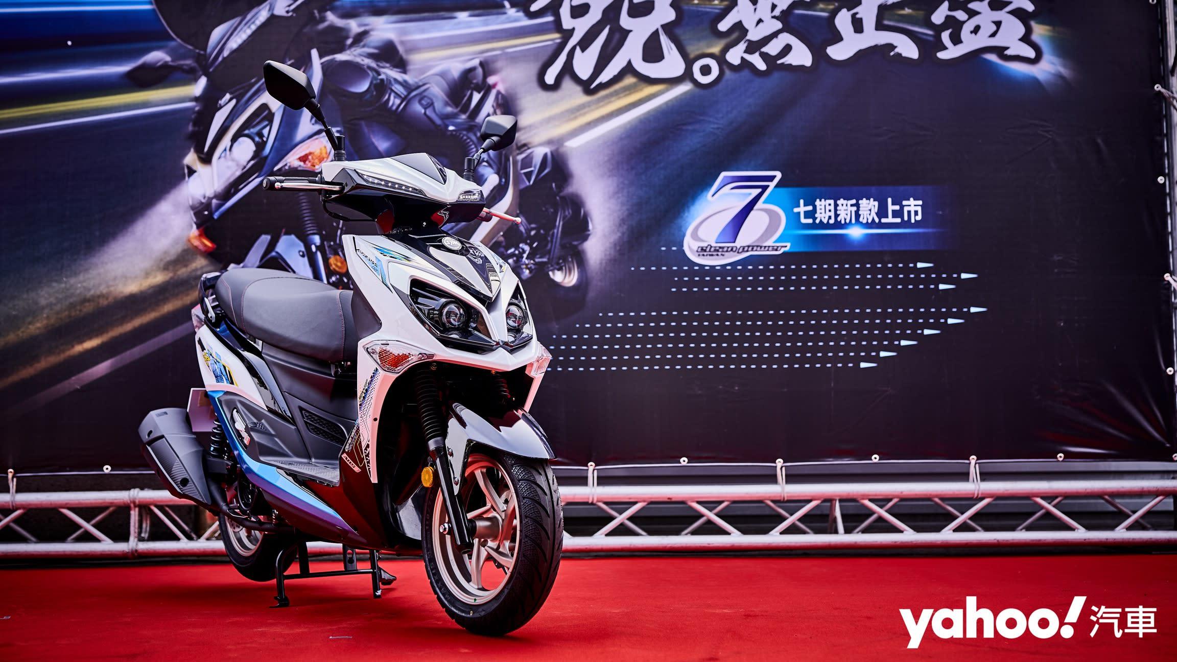 【新車圖輯】突破7期環保困境、性能照樣是冠軍!2020全新SYM Jet SR ABS正式發表!