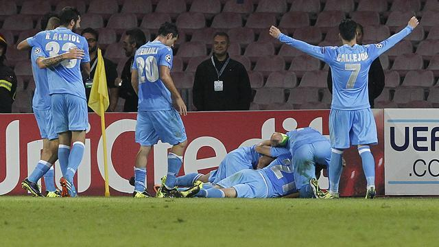 Champions League - Higuain brace helps Napoli to win over Marseille