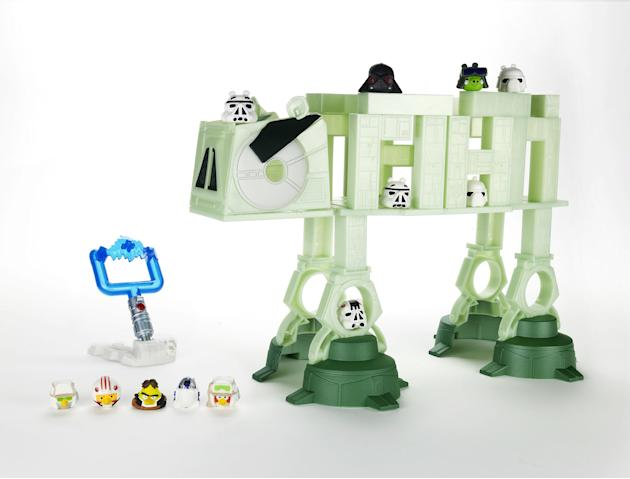 Angry Bird Star Wars – Darth Vader's LightSaber Battle Game:  Forget the app! Play a real-life version of Angry Birds with a Star Wars twist. Stack, launch, and destroy with this game which features t