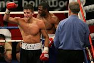 Unbeaten Welsh fighter Nathan Cleverly, pictured here in 2008, aims to make his US ring debut a memorable one when he puts his World Boxing Organization light heavyweight title on the line Saturday against Shawn Hawk
