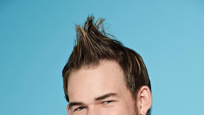 "James Durbin, 22, from Santa Cruz, CA competes on the tenth season of ""American Idol."""