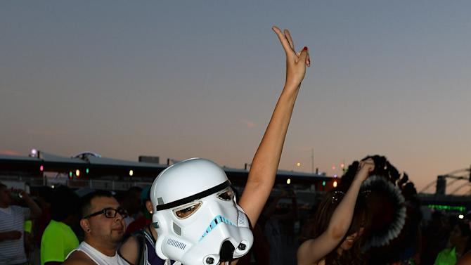 17th Annual Electric Daisy Carnival - Day 1