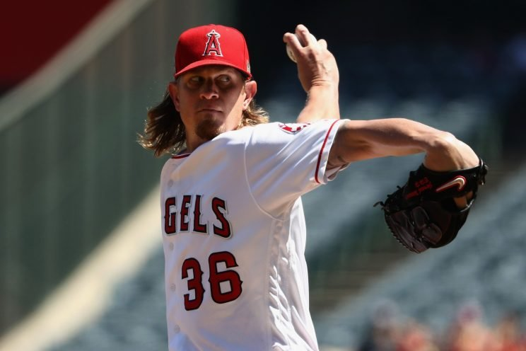 Jered Weaver is moving down the road in Southern California to sunny San Diego. (Getty Images)