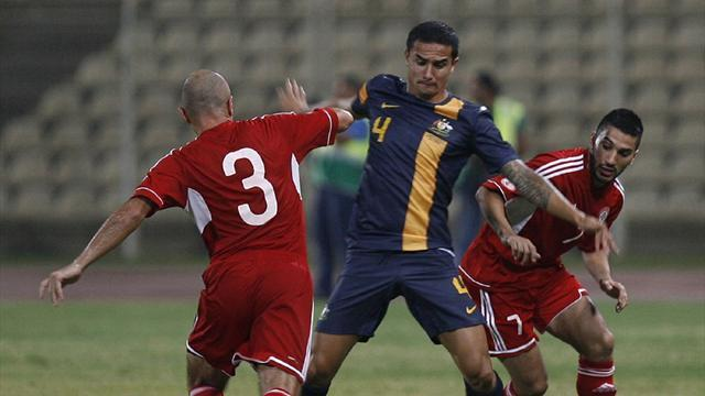 Socceroos bounce back in Beirut