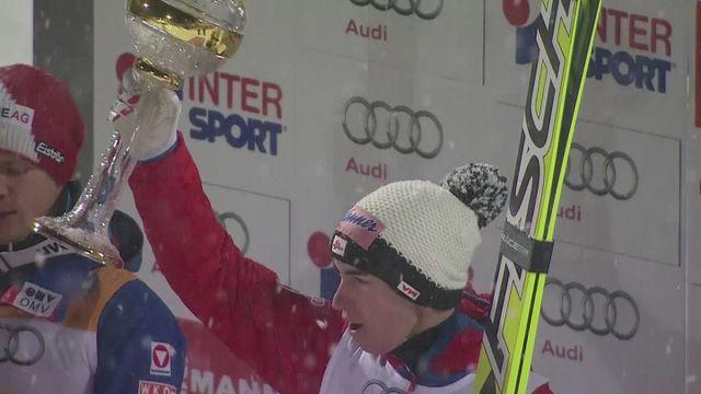 Kraft wins Four Hills ski jumping opener