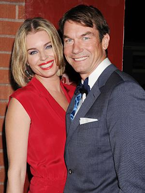 "Rebecca Romijn Has ""No Idea"" What's Going on With John Stamos, Says She's Done Having Kids"