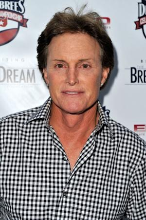 Bruce Jenner celebrates the start of the Drew Brees Celebrity Championship with GREY GOOSE¨ Vodka in San Diego, Calif., on May 17, 2012 -- WireImage
