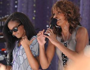 Bobbi Kristina Brown and mother, Whitney Houston