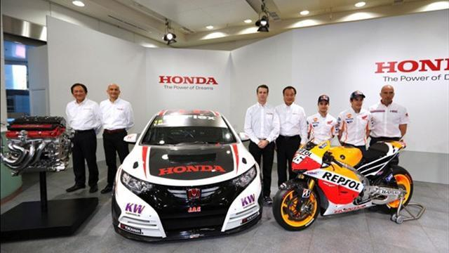 WTCC - Tarquini and Monteiro at Honda presentation