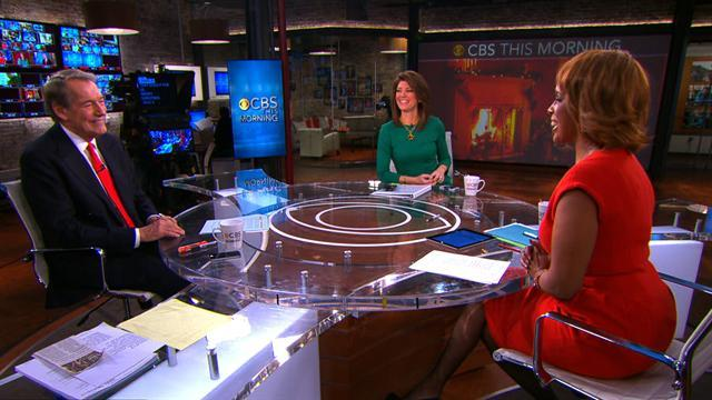 """""""CBS This Morning"""" holiday send-off"""