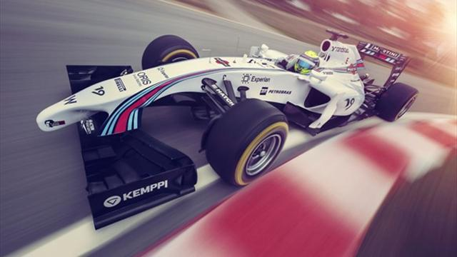 Formula 1 - Williams unveils Martini livery
