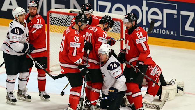 Swiss v USA - 2013 IIHF Ice Hockey World Championship Semifinals
