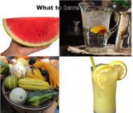 summer foods - what to have