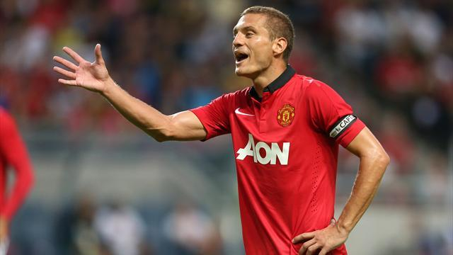 Serie A - Vidic 'completes preliminary medical with Inter'