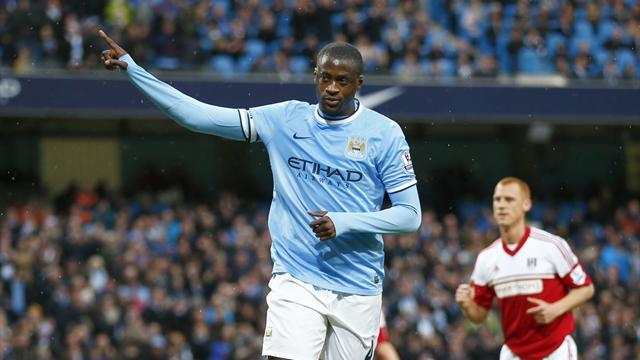 Premier League - Yaya Toure '50-50' to stay at Manchester City