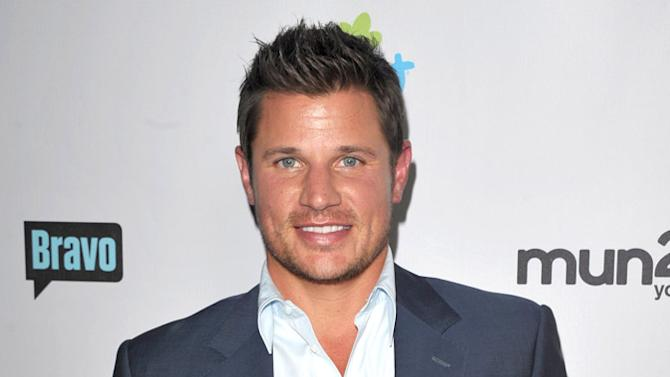 Nick Lachey NBC Universal Press Tour All Star Party