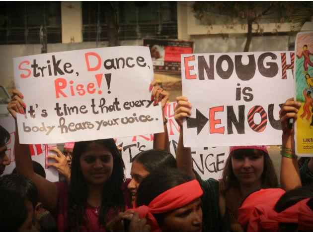 One Billion Rising, India