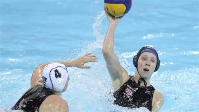 Water Polo - Britain lose opener in Barcelona