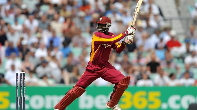 Cricket - Sammy stars for Windies
