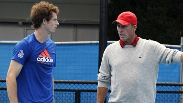 Tennis - Murray wants five more years with Lendl