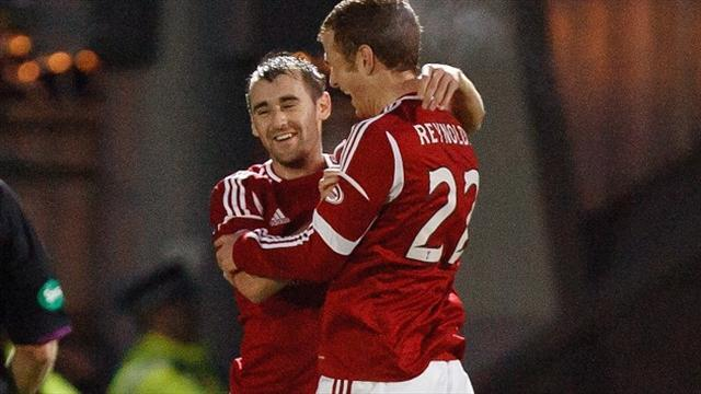 Scottish Football - McGinn commits to Dons