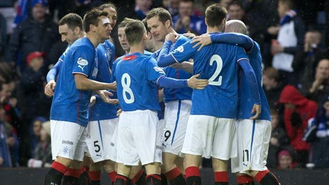 Scottish Football - Rangers claim another victory