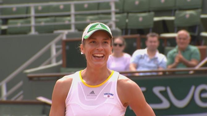 French Open - Petkovic pens dream Roland Garros return by reaching quarters