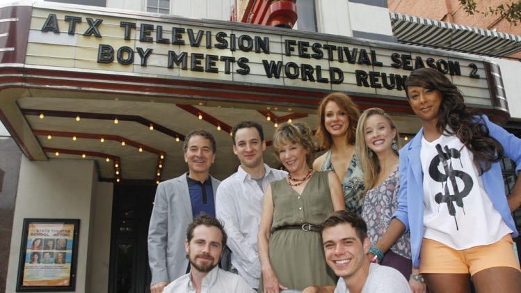 """Boy Meets World"" reunion panel at the ATX Television Festival"