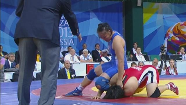 Wrestling - IOC's Bach says wrestling on track for Olympic return
