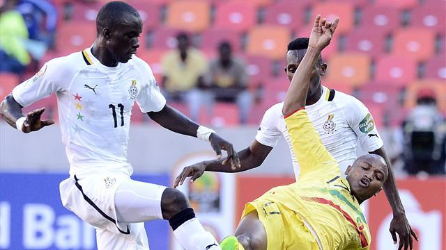 African Cup of Nations - Ghana benefit from referee blunder to sink Mali