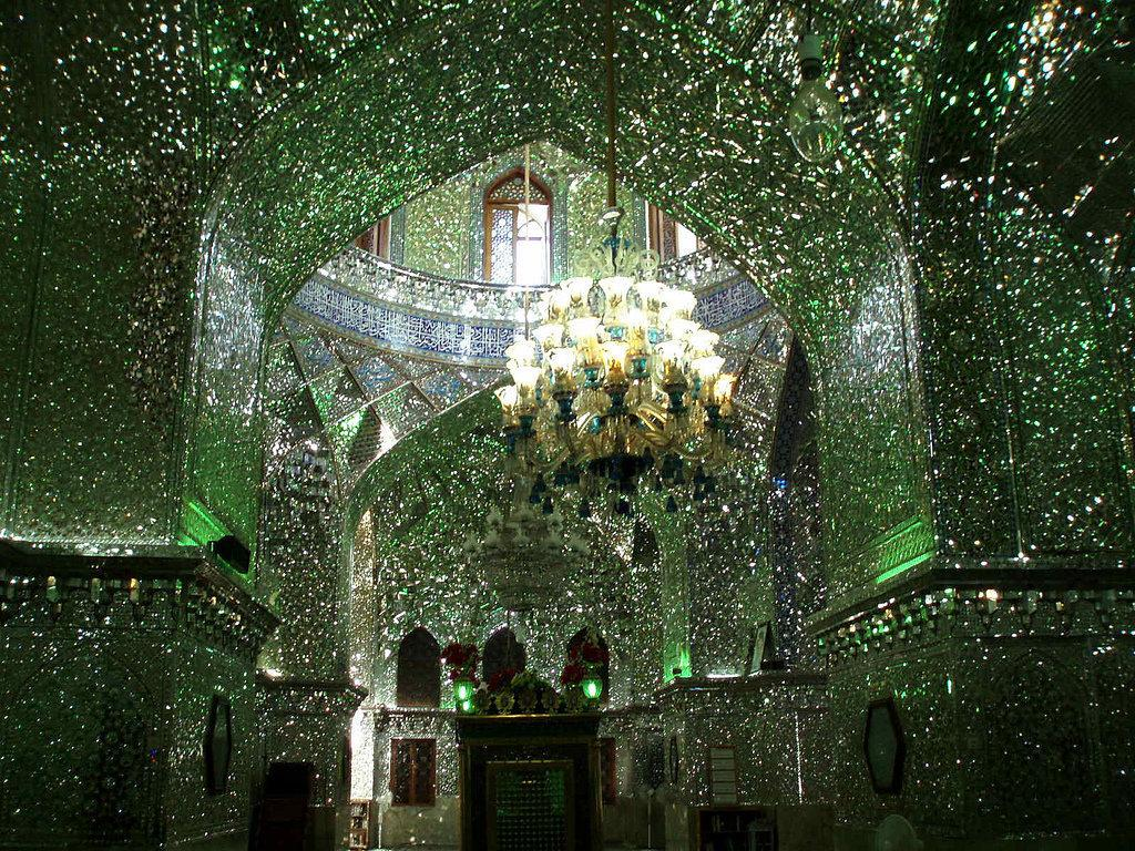 Houses of the Holy: Mirror Mosaics Make Iranian Mosque Resemble a Giant Geode