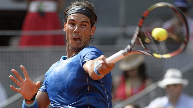Tennis - Improving Nadal to face Nishikori in Madrid final