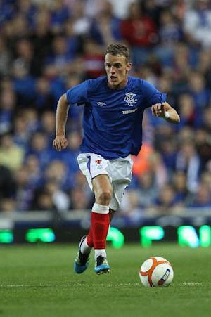 Dean Shiels was one of two Rangers players to miss a spot-kick in the shoot-out