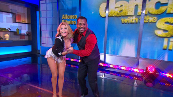 Good Morning America Watch Live : Alfonso ribeiro witney carson preview dancing with the