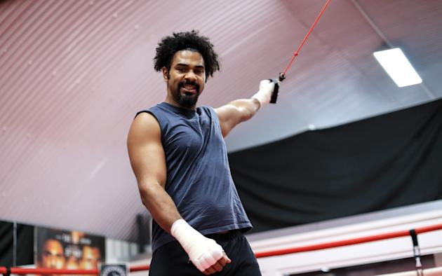 David Haye faces sanction from British boxing after claiming he will 'hospitalise' Tony Bellew and do 'serious damage to his head'
