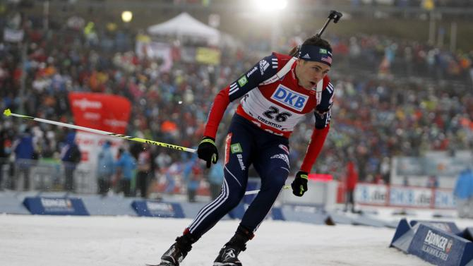 FIS Nordic World Cup - Biathlon - Men's Pursuit