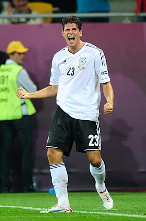 Mario Gomez's goal secured all three points for Germany