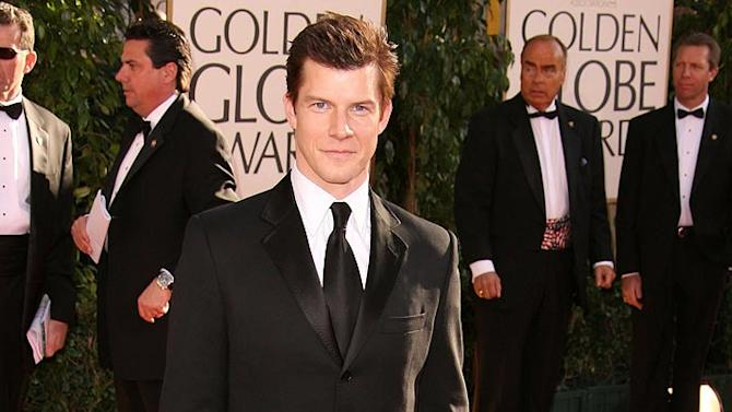 Eric Mabius at the 64th annual Golden Globe Awards.