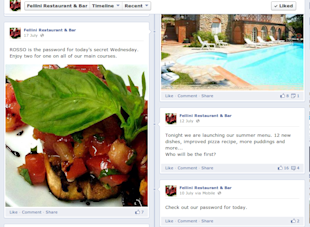 How Restaurants Can Use Social Media Effectively image Facebook Fellini