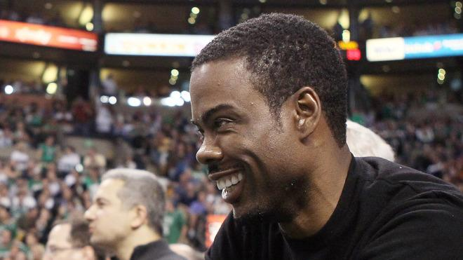 Chris Rock Gestures Getty Images