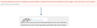Web Site Red Flags: Part III image badcaptcha
