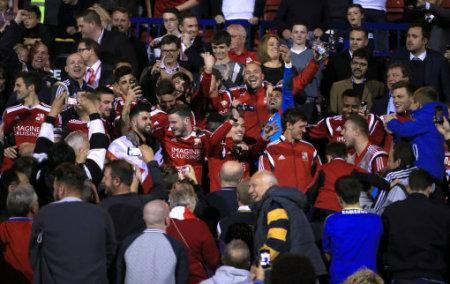 Soccer - Sky Bet League One - Play Off - Second Leg - Swindon Town v Sheffield United - County Ground