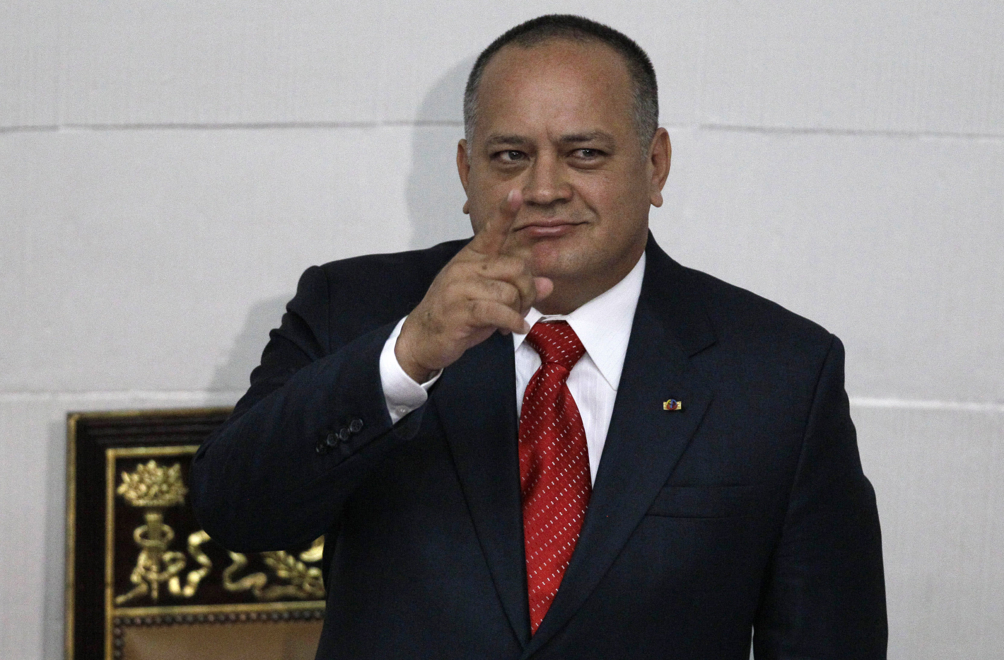 Venezuela's No. 2 distances himself from defecting bodyguard