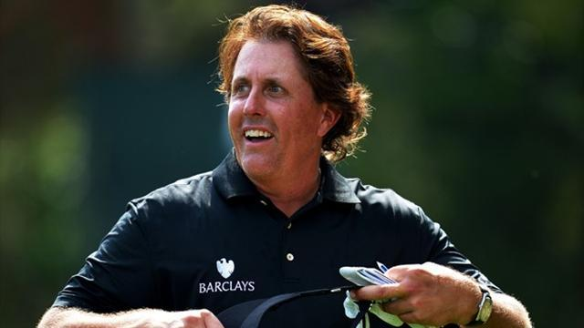 Golf - Unheralded Lee repels Mickelson charge in Abu Dhabi