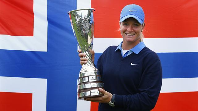 Golf - Pettersen wins in Taiwan for second year running