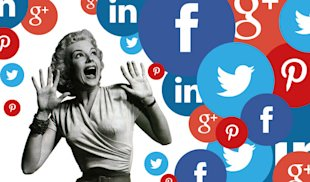 Is Social Media Hype Freaking You Out? image social media freak